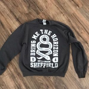 Bring me the horizon sweatshirt size medium
